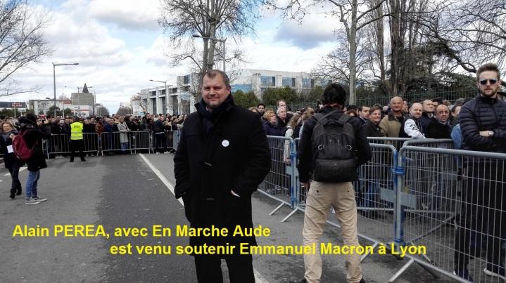 Alain PEREA Maire de Villedaigne